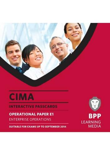 CIMA Enterprise Operations: BPP Learning Media