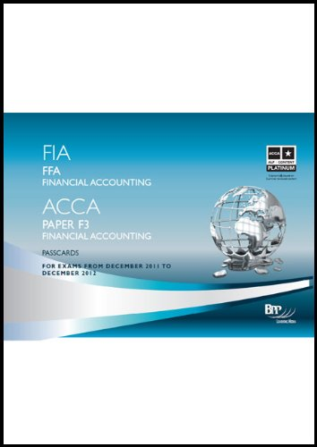 9781445373195: FIA - Foundations of Financial Accounting FFA: Passcards