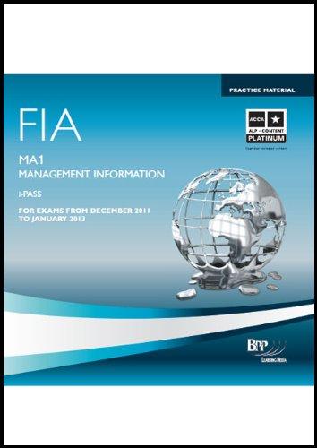 9781445373225: FIA - Management Information MA1: iPass