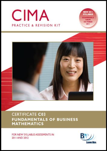 9781445377834: Cima - Fundamentals of Business Mathematics: Revision Kit