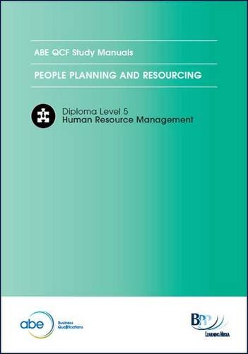 9781445379425: ABE - People Planning and Resourcing: Study Text