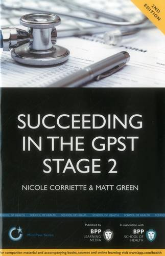 Succeeding in the GP ST Stage 2: Nicole Corriette
