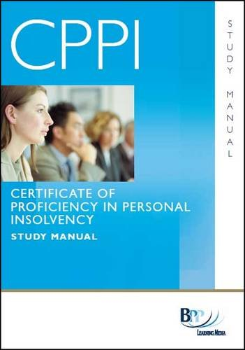 9781445382371: Cppi - Certification of Proficiency in Personal Insolvency Study Text