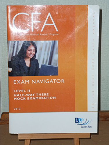 9781445383095: CFA Navigator Level 2 - Halfway-there Mock Exam
