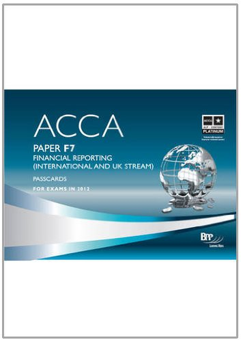 9781445387314: Acca - F7 Financial Reporting (International): Passcard