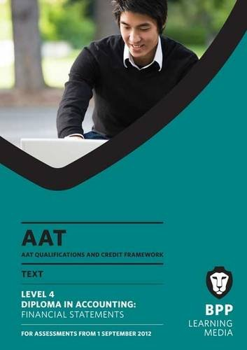 9781445394633: AAT - Financial Statements: Study Text (L4M)
