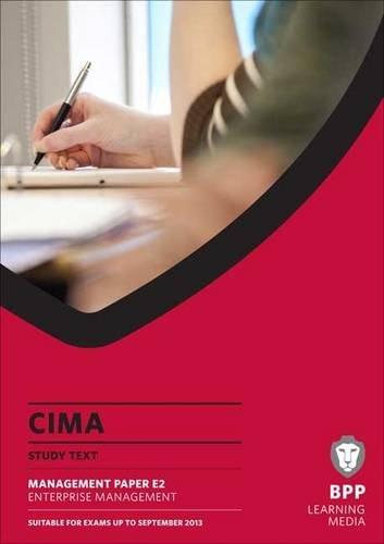 9781445396033: CIMA - Enterprise Management: Study Text