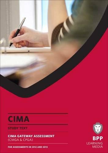 CIMA - Gateway Exam Text: Study Text: BPP Learning Media