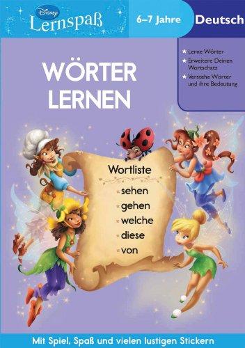 9781445404349: Disney: Wörter lernen: 6-7 Jahre Deutsch: Mit Spiel, Spaß und vielen lustigen Stickern!