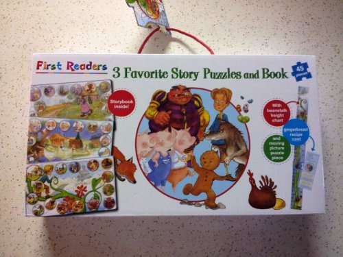 9781445405292: First Readers: 3 Favorite Story Puzzles and Book