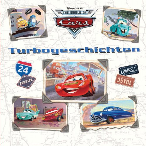 9781445410517: Disney: Cars Turbogeschichten
