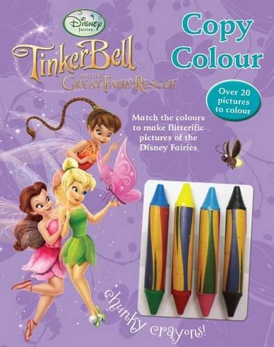 9781445415543: Disney Fairies - Copy Colour