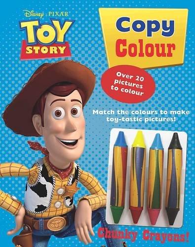 9781445415567: Disney Toy Story - Copy Colour