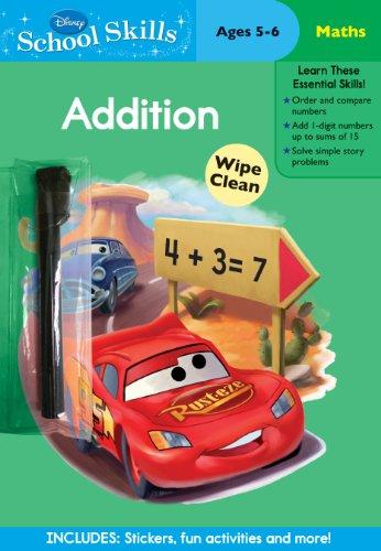9781445416977: Disney School Skills: Cars Lets Learn Addition