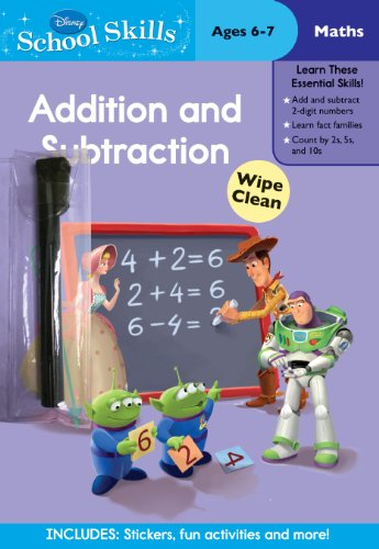 9781445417066: Disney School Skills - Toy Story: Addition and Subtraction