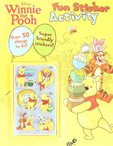 9781445418360: Winnie the Pooh - Fun Sticker Activity