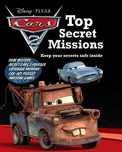 Disney's Cars 2: Top Secret Missions: Parragon Books