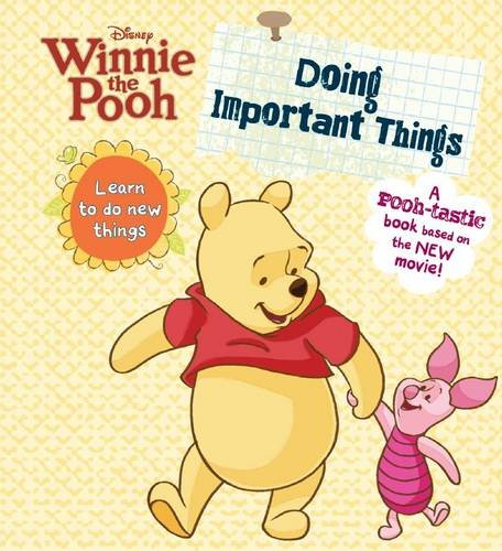 Winnie the Pooh: Doing Important Things: Parragon Publishing India