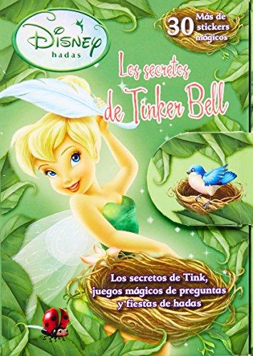 9781445430102: Disney hadas: Los secretos de Tinker Bell (30 Mas de stickers magicos) (Spanish Edition)