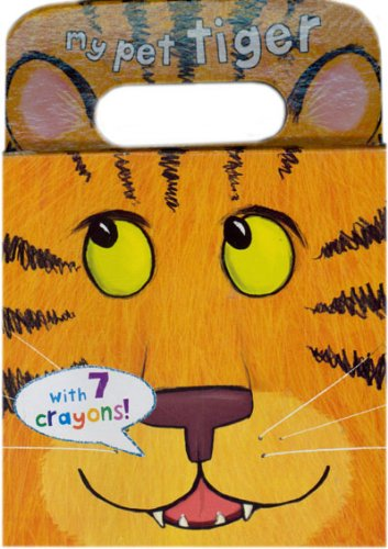 9781445431239: My Pet Tiger Coloring Book (Carry Along Coloring)