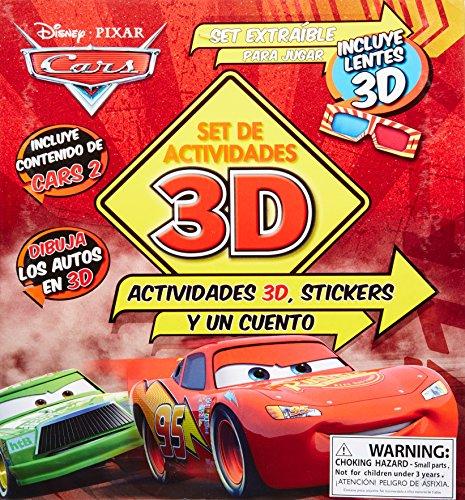 9781445431383: Cars 2 - Set De Actividades 3D
