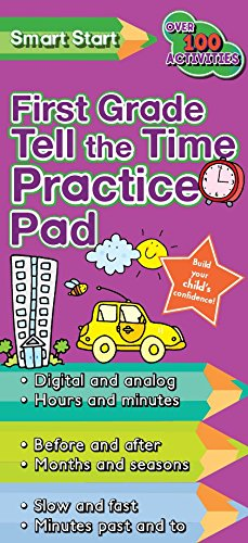 9781445432151: First Grade Tell the Time Smart Start Practice Pad