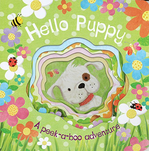 9781445432533: Hello Puppy (Die-Cut Animal Board)