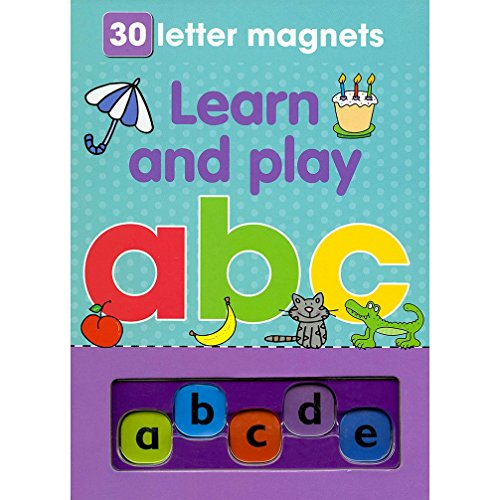 9781445434322: Magnetic Playbook Learn and Play ABC