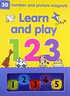 Learn and Play 123 Magnetic Folder (Pre-School Magnetic Playbook Folder): Parragon