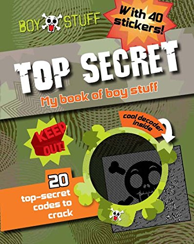 9781445437552: Boy Stuff Top Secret