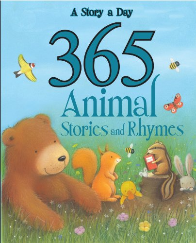 9781445438535: 365 Animal Stories and Rhymes