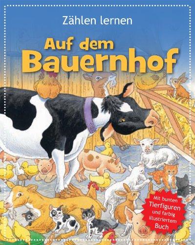 9781445439075: Buch & Spiel : Zählen lernen auf dem Bauernhof