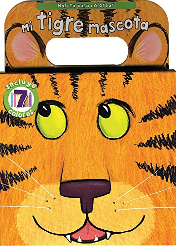 9781445440606: Mi Tigre Mascota, Maleta Para Colorear (Carry Along)