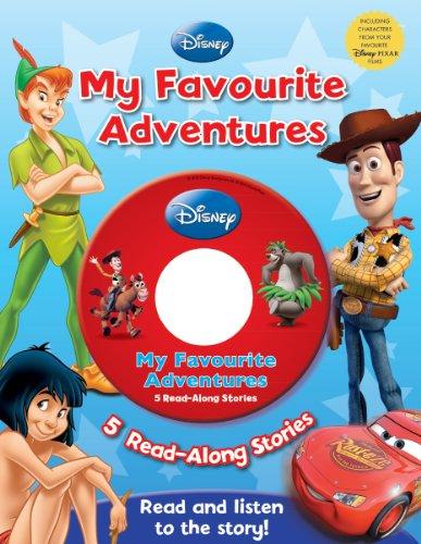 Disney Adventure 5 Book Slipcase: See Image