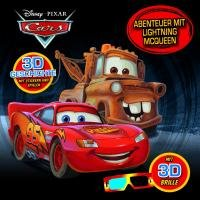 9781445442266: Disney Cars - Abenteuer mit Lighting McQueen (3D): 3D Geschichte, Sticker, Spiele und 3 D Brille