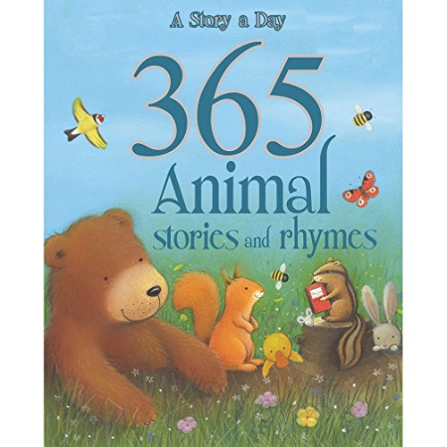 9781445445496: 365 Animal Stories and Rhymes