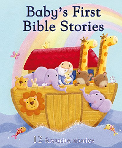 9781445445687: Baby's First Bible Stories: 12 Favorite Stories (First Padded)