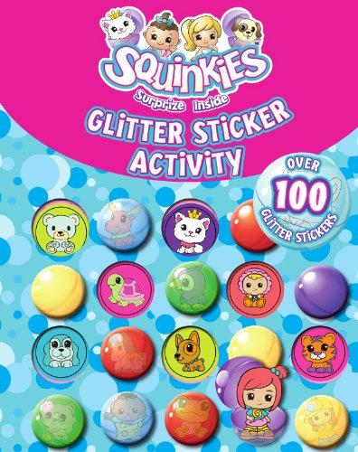 Squinkies Glitter Sticker Activity: Parragon Book Service Ltd