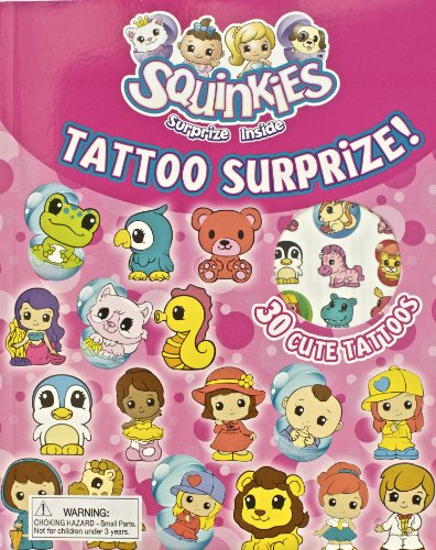 9781445445830: Squinkies Tattoo Surprize! Activity Book