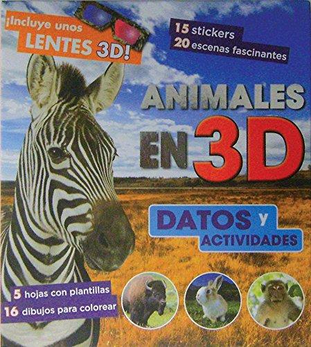 9781445448824: Animales en 3D, Datos y Actividades (Spanish Edition)