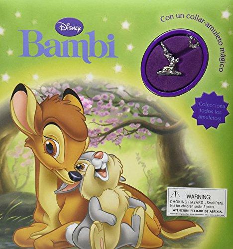 9781445453811: Disney Bambi con un collar-amuleto magico (Disney Charm) (Spanish Edition)