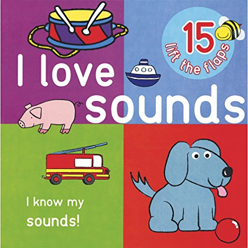 9781445456690: I Love Sounds - Big Lift the Flap Book