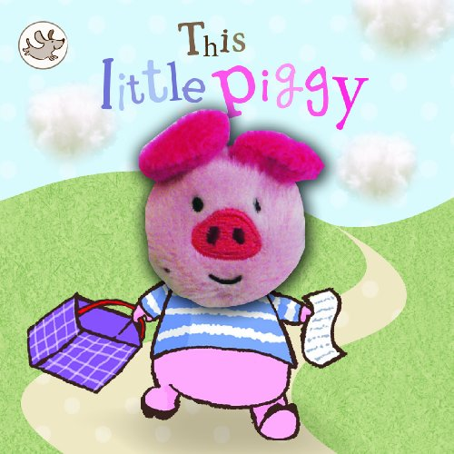 9781445457260: Little Learners - This Little Piggy (Little Learners Finger Puppet)