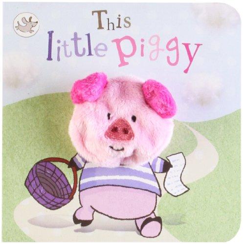 9781445457284: This Little Piggy Finger Puppet Book (Little Learners)
