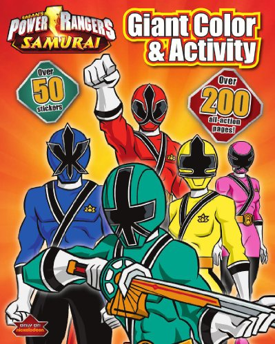 9781445457420: Power Rangers Giant Coloring