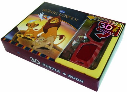 9781445459035: Disney: Geschenkset Löwen: Buch mit 3D Puzzel
