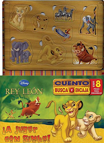 9781445459141: Disney Cuento Busca y Encaja: Lion King (Spanish Edition)
