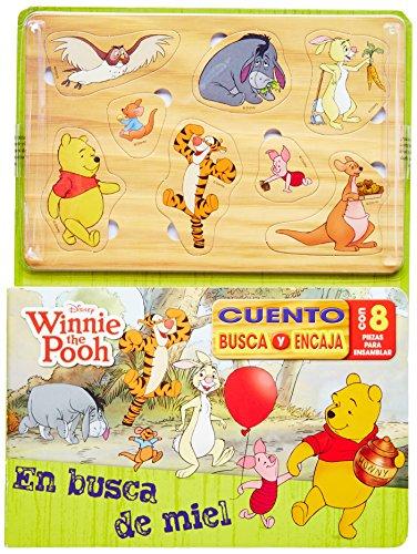 9781445459189: winnie the pooh. cuento busca y encaja