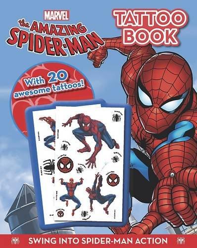 9781445459868: The Amazing Spiderman - Tattoo Book (Marvel Tattoo Book)