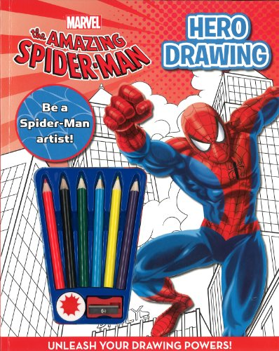 9781445461021: SPIDER-MAN HOW TO DRAW (Marvel Draw a Hero)